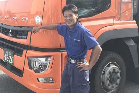 丸玉運送 本社営業所 2015年入社 鳴山 英司さん