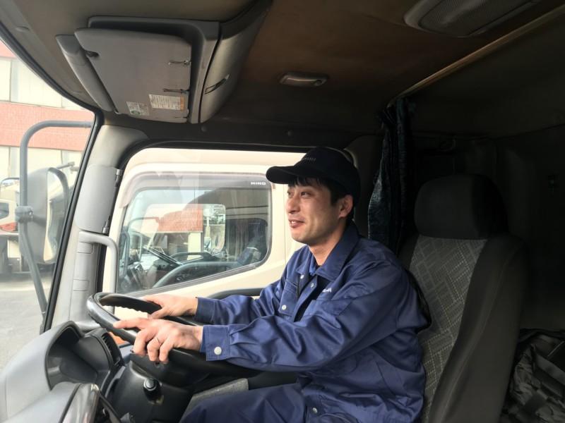 ふとしたきっかけでやった運転の仕事で、魅力を発見