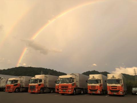🌈雨上がりの神奈川営業所🌈