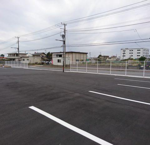 新駐車場進捗状況!(千葉営業所)