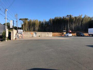 豊橋その後の駐車場