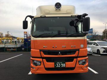 大阪営業所に、FUSO(ふそう)の新車が入りました!!