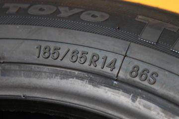 タイヤの表示記号について