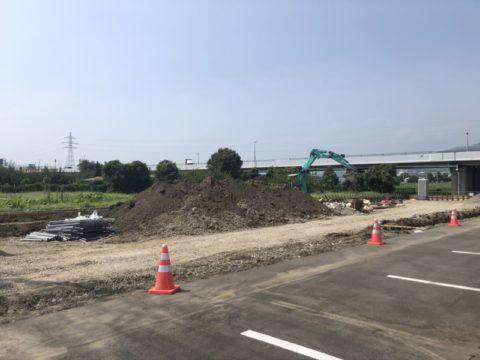神奈川営業所、車庫増設工事再開!!