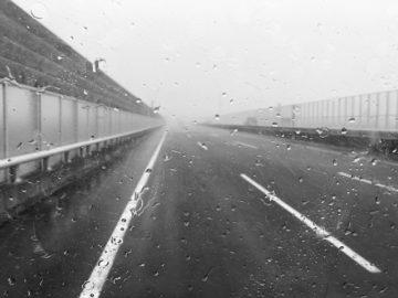 昨日の雨、凄い!
