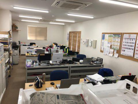 静かな豊橋営業所!!