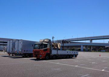 新設【川崎営業所】ピカピカの駐車場!