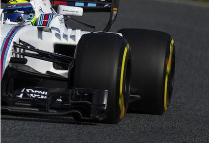 F1マシンのタイヤに溝がない理由・・・