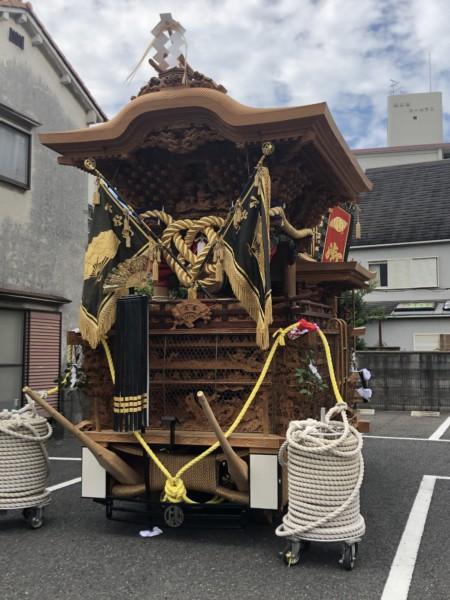 2021年岸和田だんじり祭開催!小田原営業所